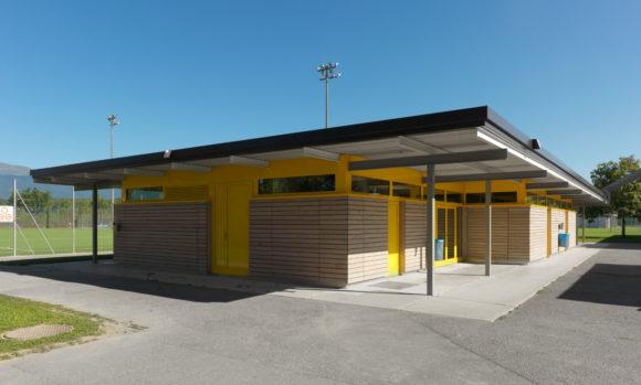 Rénovation vestiaires Stade Louis-Rendu
